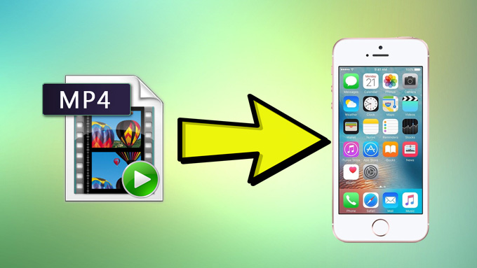 Transfer MP4 to iPhone