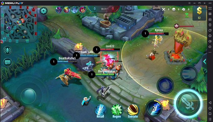 Play Mobile Legends on MEmu