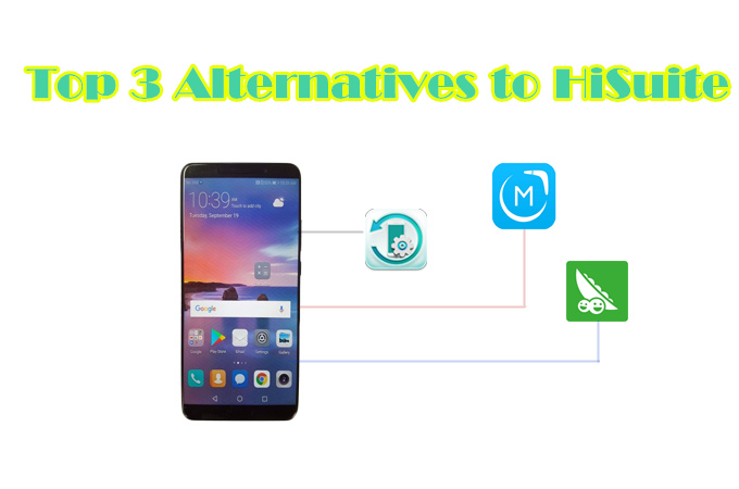 top 3 alternatives to Hisuite