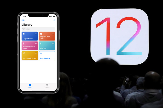 iOS 12 new features