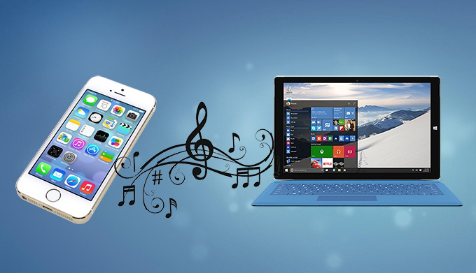 Transfer Music from iPhone to Windows 10