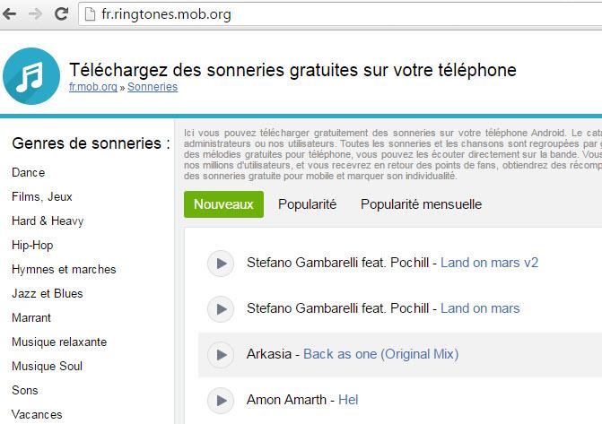 Quelques Sites Gratuits Pour Telecharger Des Sonneries Iphone