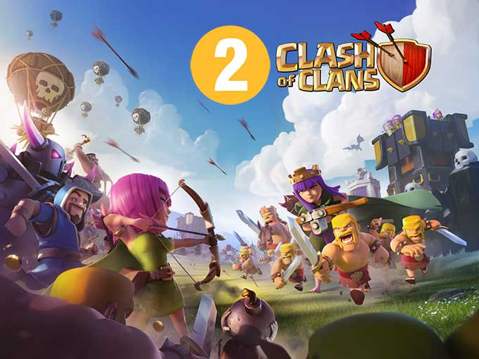 Two Clash of Clans on one device