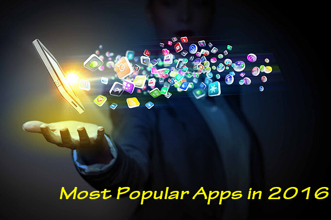 most popular apps in 2016