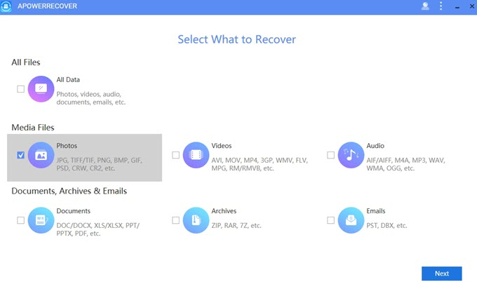 recover deleted photos from PC