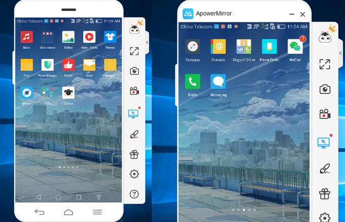 mirror Android phones to PC