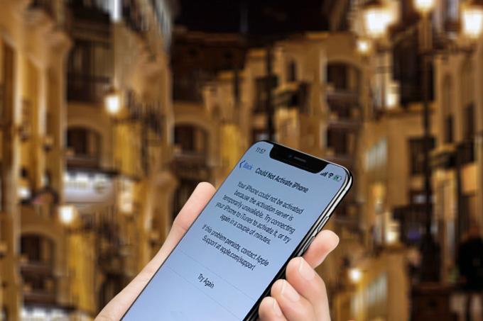 iphone x activation verizon problems