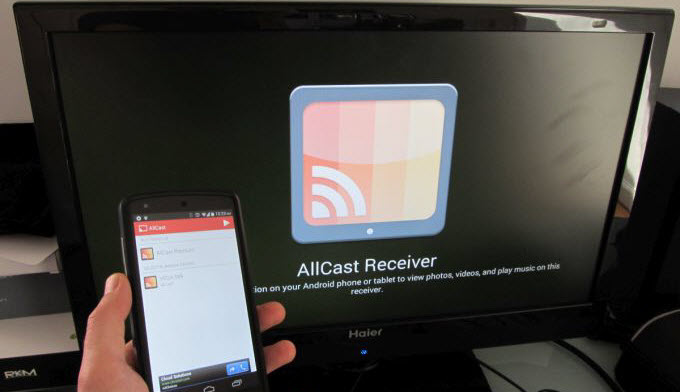 screen mirror apk for android tv