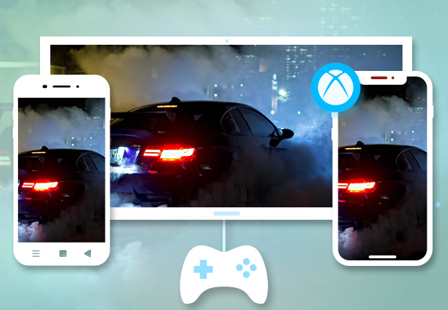 mirror phone to Xbox One