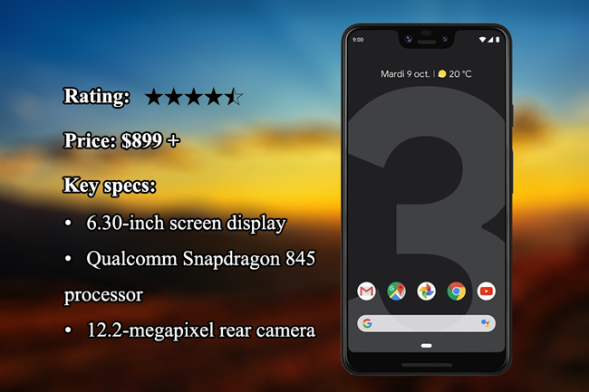 best Android phone Google Pixel 3 XL