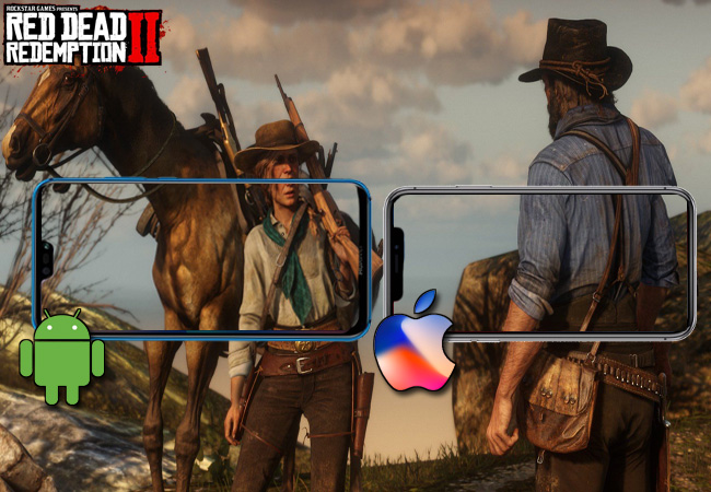 play red dead redemption 2 on Android and iPhone