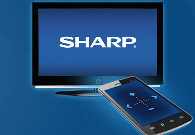 how to connect iPhone to Sharp TV