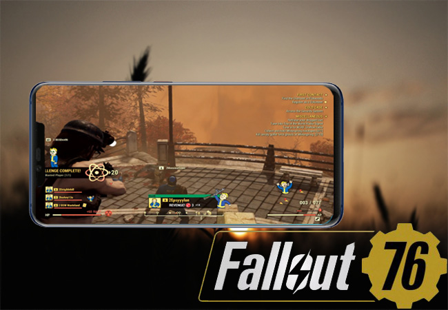 Jogar Fallout 76 no Android