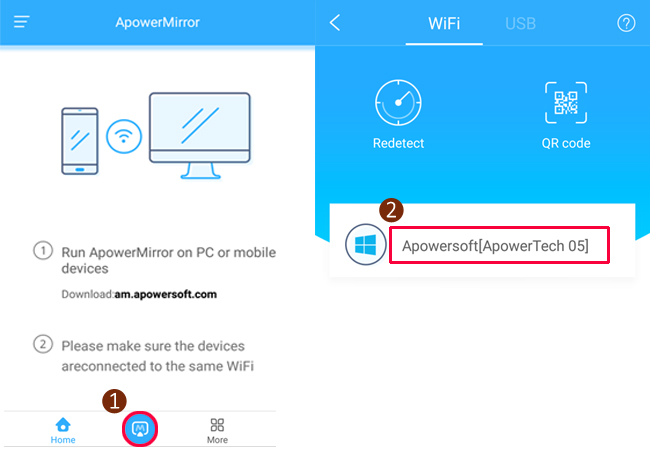 connect android to pc wirelessly