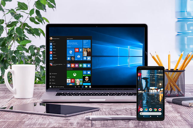 how to mirror Android to Windows 10